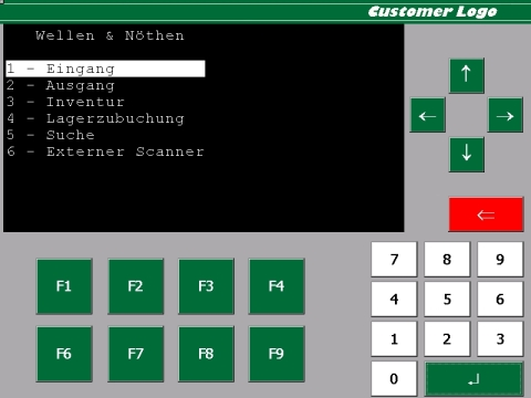Screenshot 3 - Staplerterminal